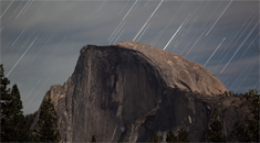 Half Dome Star Trails by Acceleroto 235x130
